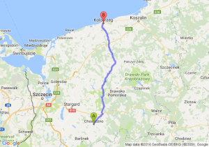 Choszczno (zachodniopomorskie) - Kołobrzeg (zachodniopomorskie)