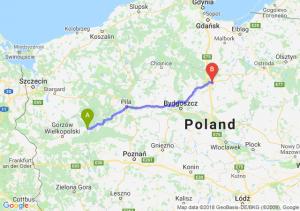 Trasa Drezdenko - Grudziądz