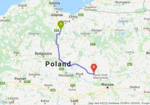 Trasa Gniew - Płońsk