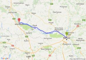 Trasa Annopol - Włocławek