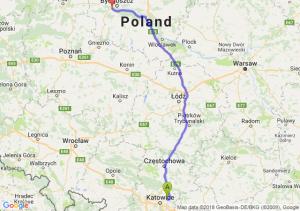 Trasa Dąbrowa Górnicza - Białe Błota
