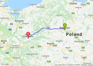 Trasa Bydgoszcz - Gorzów Wielkopolski