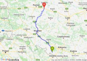 Trasa Racibórz - Września