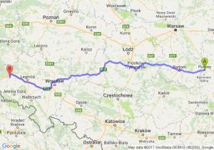 Trasa Puławy - Bolesławiec