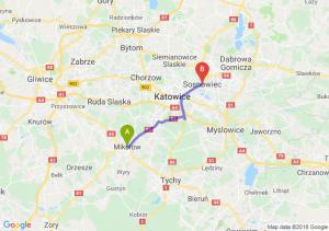 Trasa Mikołów - Sosnowiec