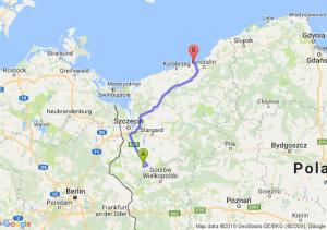 Trasa Myślibórz - Sarbinowo