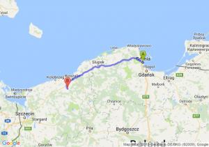 Trasa Gdynia - Białogard