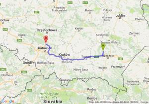 Kolbuszowa - Pyrzowice