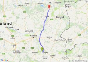 Trasa Bąkowiec - Szczuczyn