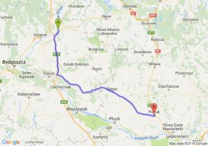Trasa Grudziądz - Płońsk