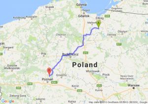Dzierzgoń (pomorskie) - Murowana Goślina (wielkopolskie)