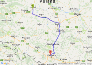 Trasa Gniezno - Bytom