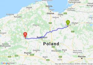 Trasa Ostróda - Piła