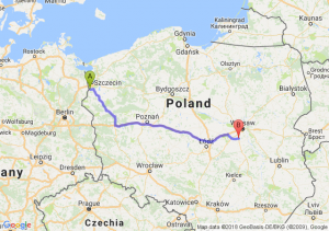 Trasa Gryfino - Tarczyn