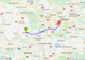Trasa Racibórz - Mikołów
