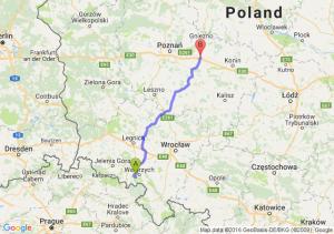 Boguszów-Gorce (dolnośląskie) - Września (wielkopolskie)