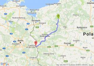 Trasa Czaplinek - Słubice