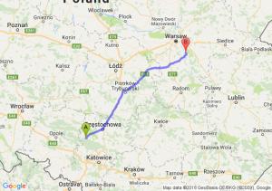 Trasa Lubliniec - Karczew