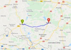 Trasa Racibórz - Rybnik