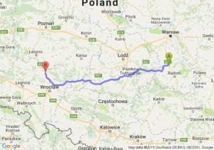 Trasa Białobrzegi - Żmigród