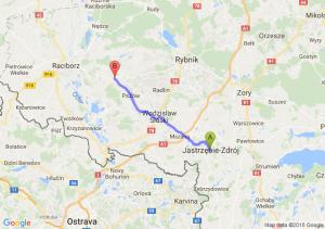 Trasa Jastrzębie-Zdrój - Rzuchów