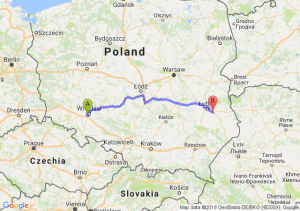Trasa Bielany Wrocławskie - Kębłów