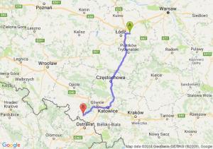 Trasa Brzeziny - Racibórz