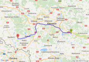 Trasa Chrzanów - Rzuchów