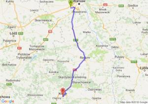 Trasa Pruszków - Kielce