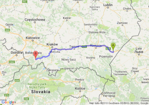 Trasa Radymno - Pietrzykowice