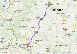 Trasa Bydgoszcz - Kamienna Góra