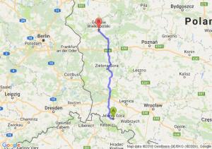 Jelenia Góra - Gorzów Wielkopolski
