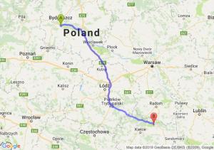 Trasa Brzoza (koło Bydgoszczy) - Starachowice