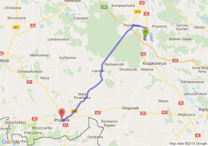 Trasa Dąbrówka Górna - Prudnik