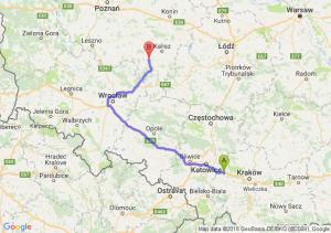 Chrzanów (małopolskie) - Ostrów Wielkopolski (wielkopolskie)