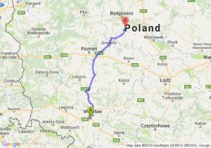 Trasa Bielany Wrocławskie - Złotniki Kujawskie