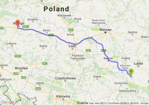 Kraśnik (lubelskie) - Luboń (wielkopolskie)