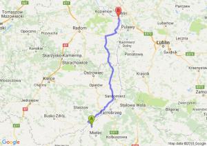 Trasa Borowa - Zajezierze