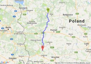 Wałcz - Polkowice