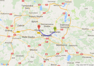 Trasa Sosnowiec - Chorzów