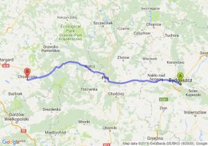 Trasa Bydgoszcz - Choszczno