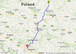 Trasa Ciechanów - Pyskowice