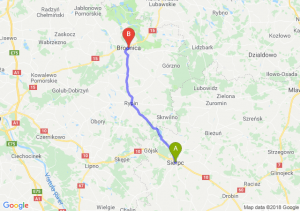 Trasa Sierpc - Brodnica