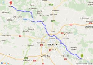 Jelcz-Laskowice (dolnośląskie) - Wołów (dolnośląskie)