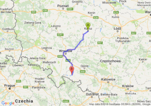 Trasa Kalisz - Nysa