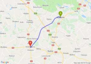 Trasa Gostynin - Krośniewice