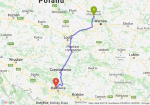 Trasa Nowy Dwór Mazowiecki - Bytom