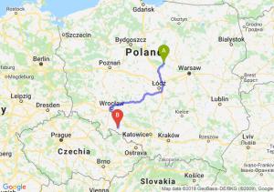 Trasa Płock - Nysa