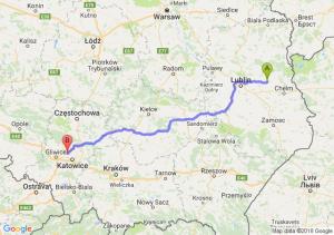 Trasa Cyców - Bytom