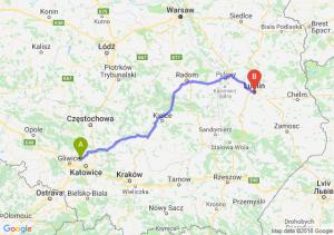 Trasa Bytom - Lublin